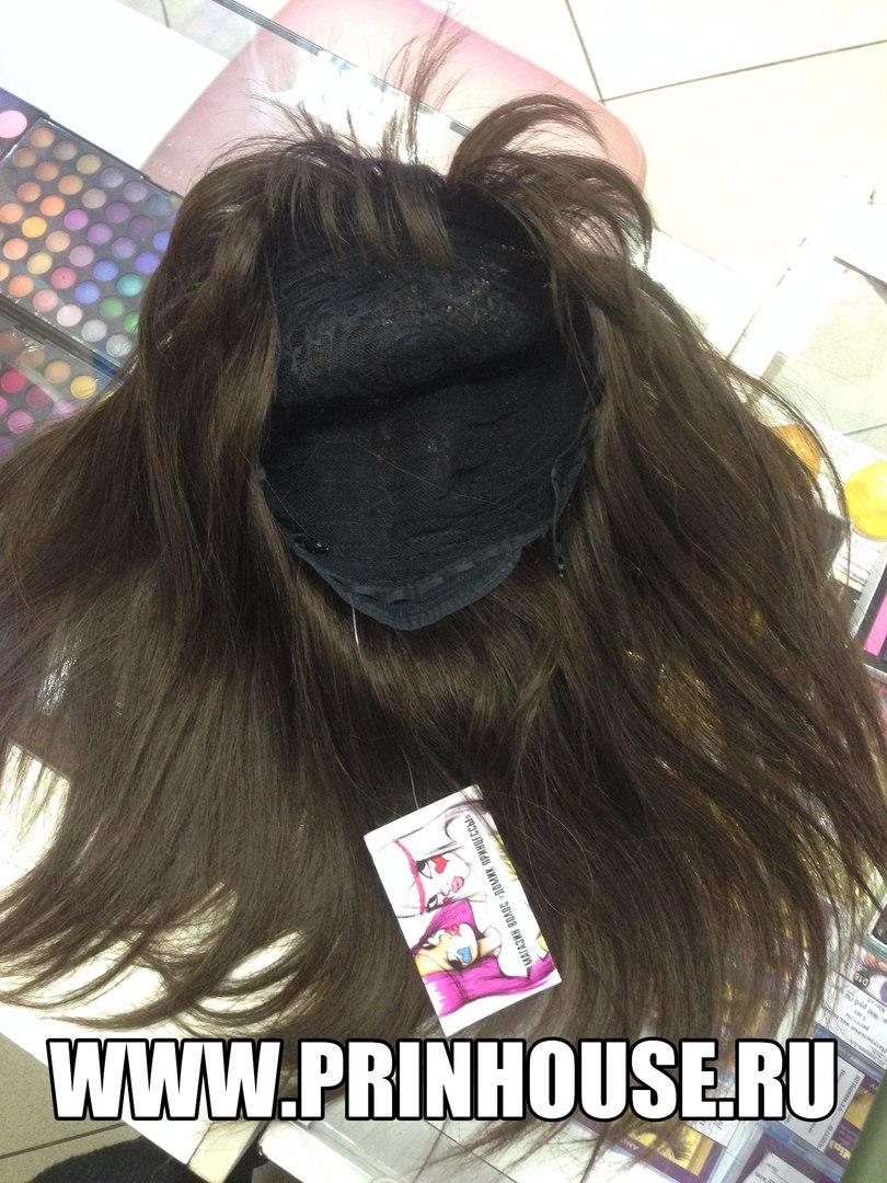 моно парик натуральный