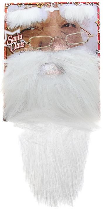 накладная борода и брови Деда Мороза