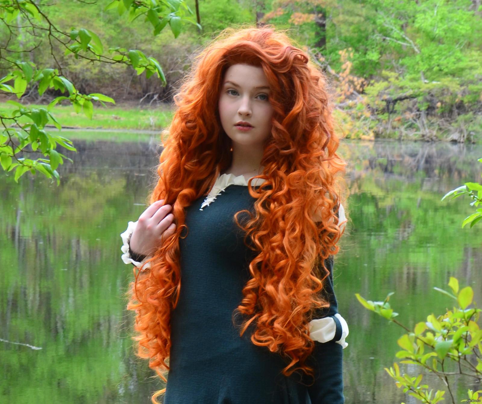 Фото девочка из мультика с красными волосами 18 фотография