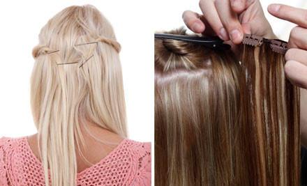 как крепить волосы на заколках