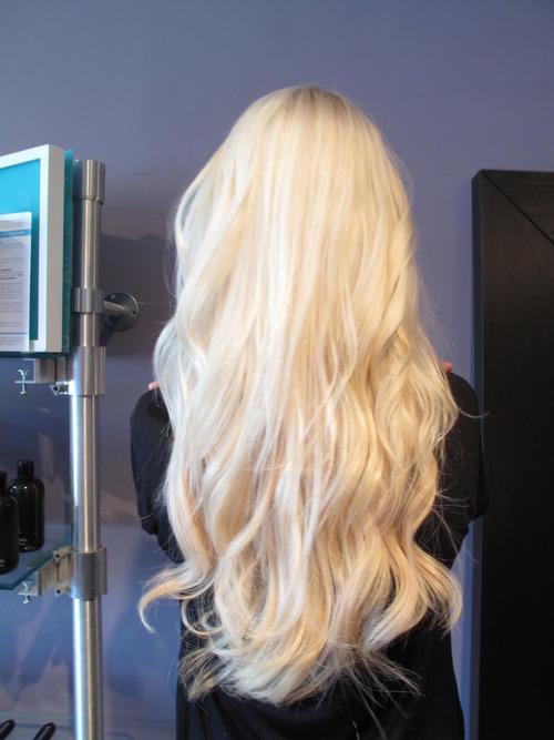 волосы красивые блондинка