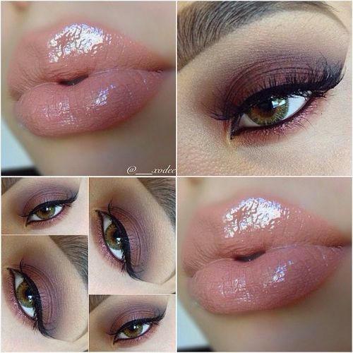 нежный розовый блеск для губ