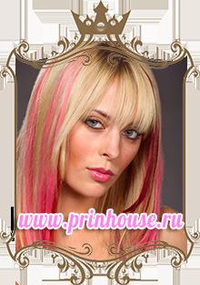 Цветное колорирование волос