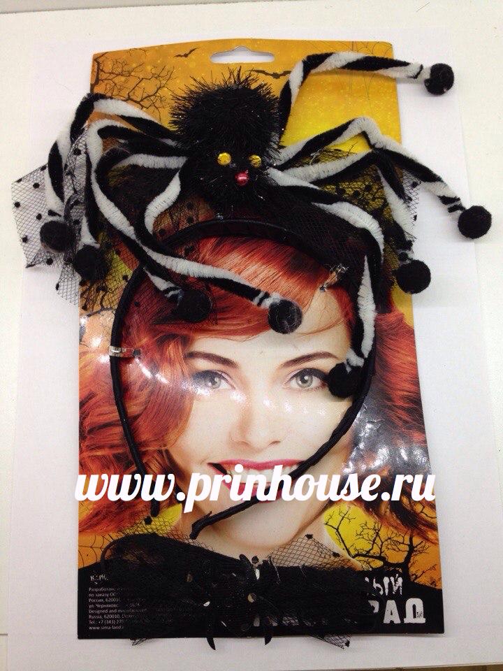 Ободок с пауком