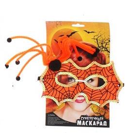 маска с пауком