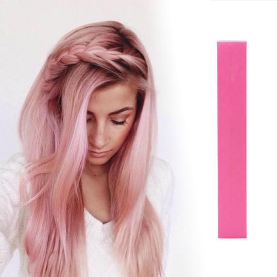 Ярко-розовые мелки для волос