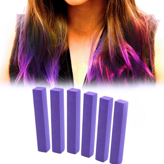 Фиалковые мелки для волос