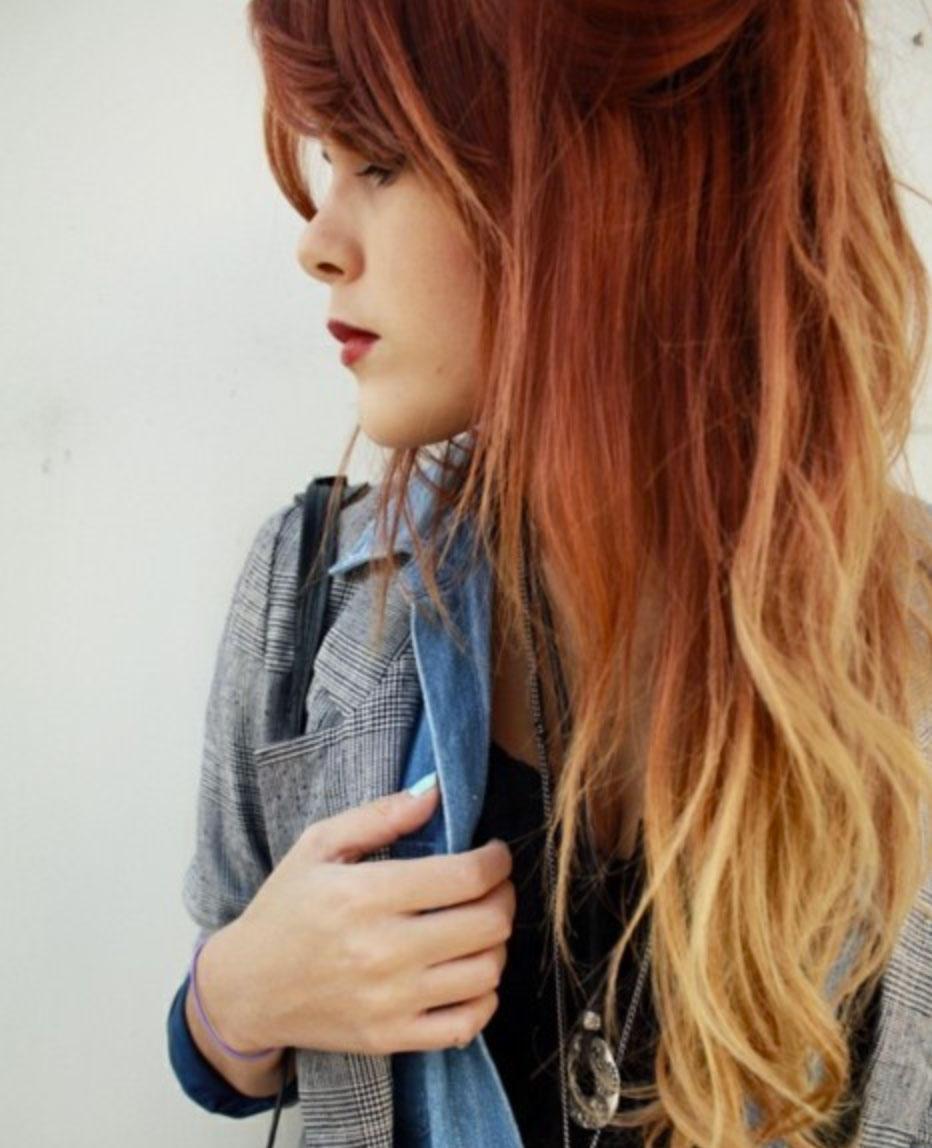 Мелки для волос легкое омбре