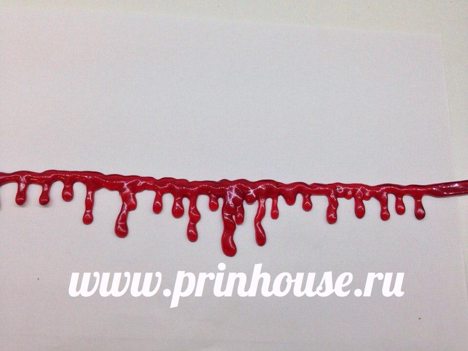 Чокер кровь