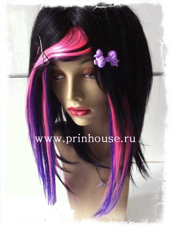 Цвет фуксия волосы