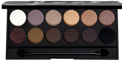 Палетка теней для век Sleek Eyeshadow Palette I-Divine 12 цветов (арт.au Natural 601)