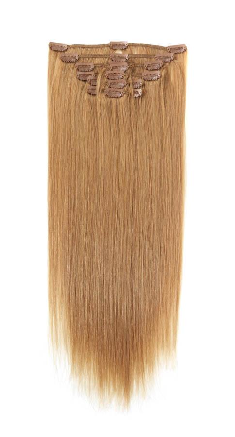 Натуральнык волосы на заколках
