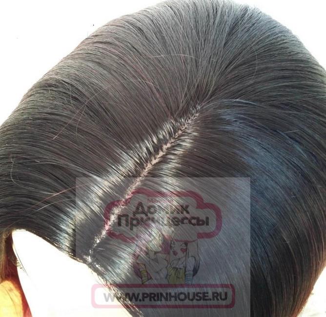 имитация кожи парик омбре
