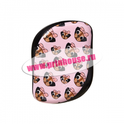 Расческа Tangle Teezer Compact Styler Pug Love